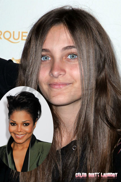 Janet Jackson Advises Paris Jackson To STAY AWAY From Acting