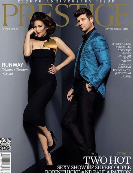 Robin Thicke & Paula Patton Do Relationship Damage Control: We Are Best Friends!