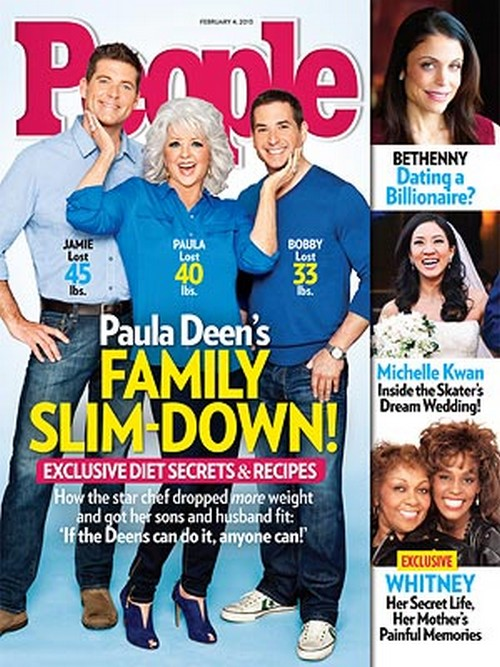 paula deen weight loss secret