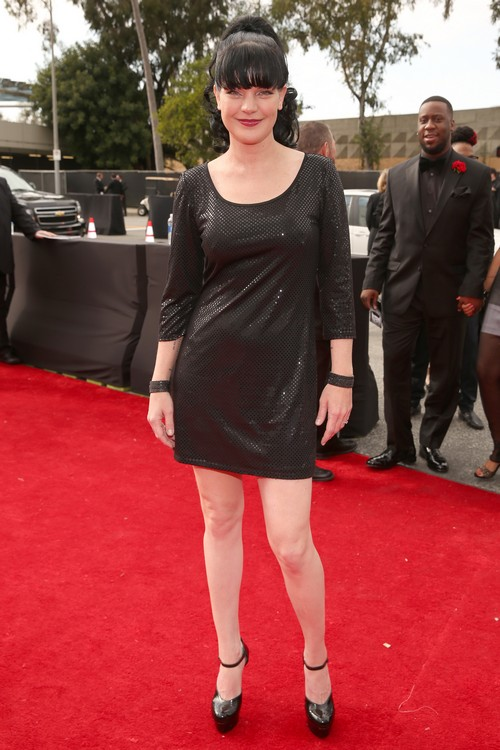 Paulette_Perrette-2013-Grammy-Awards-Red-Carpet-Arrival