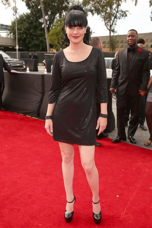 Paulette_Perrette-2013-Grammy-Awards-Red-Carpet-Arrival