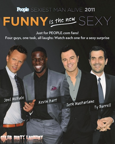 "PEOPLE.com Celebrates SEXIEST MAN ALIVE 2011 with ""Funny is the New Sexy ..."