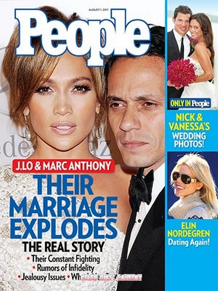 People: Why Jennifer Lopez And Marc Anthony Split - The Ugly Truth