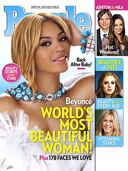 Beyoncé The World's Most Beautiful Women (Photo)