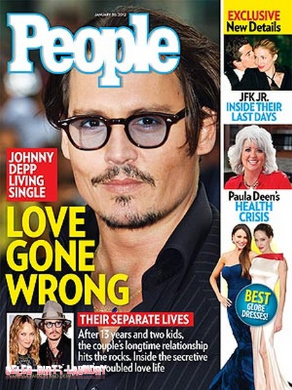 Johnny Depp & Vanessa Paradis Living 'Sad' Separate Lives (Photo)