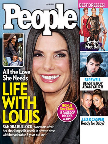 Sandra Bullock's Son Louis Gives Her All The Love She Needs (Photo)
