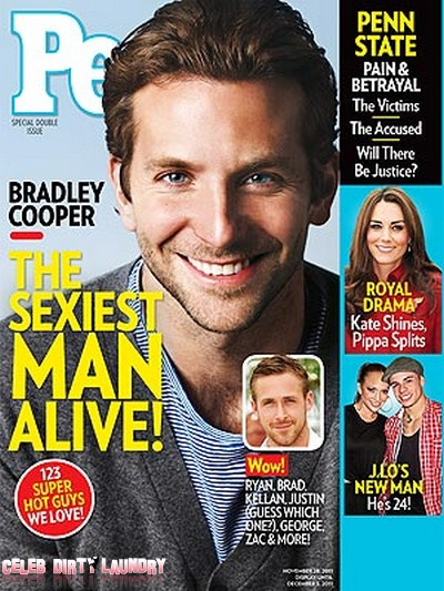 People Magazine: Bradley Cooper Is The Sexiest Man Alive! (Photo)