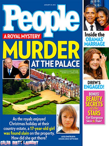 A Royal Mystery: Murder At The Palace (Photo)