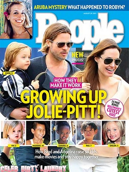 People: Inside The Brad Pitt and Angelina Jolie Family
