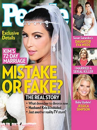 People: Was Kim Kardashian's Marriage A Fake Or A Mistake? (Photo)