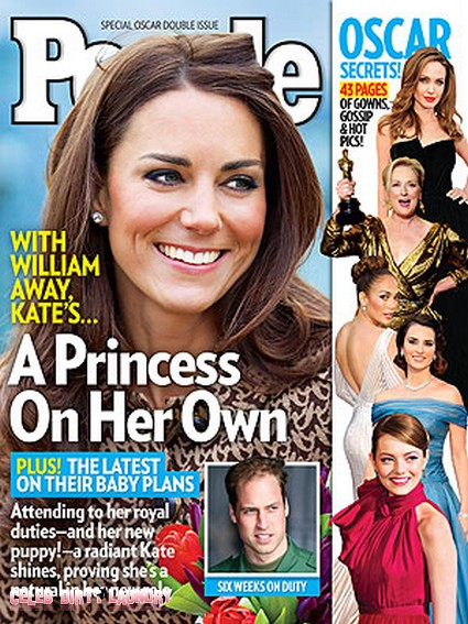 While Prince William Is Away Kate Middleton Is A Princess On Her Own (Photo)