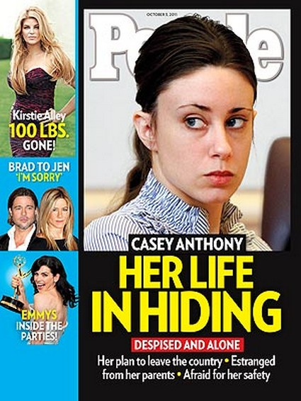 People Magazine: Casey Anthony Hiding Out in Fear