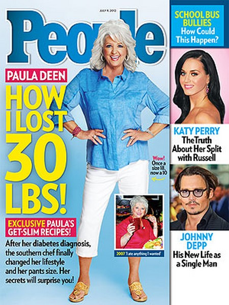 Paula Deen Shares How She Lost 30 Pounds (Photo)