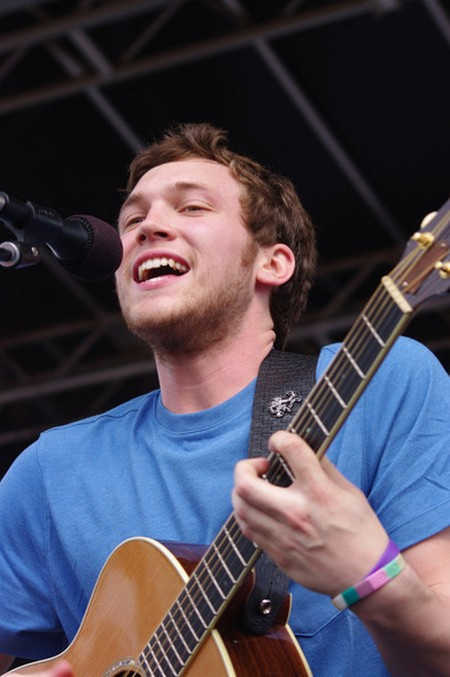 Phillip Phillips American Idol 2012 'SONG 3' Video 5/16/12