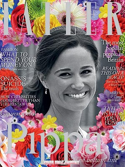 Royal Sister Pippa Middleton Covers UK Tatler