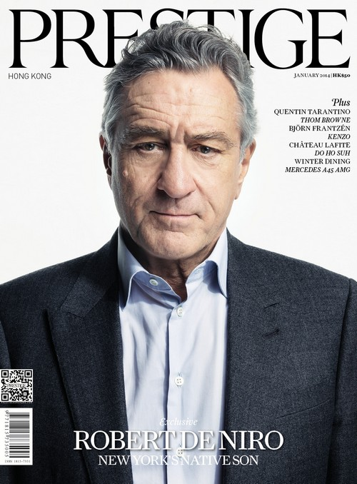Robert De Niro Covers Prestige Hong Kong, Opens Up About Recent Movie Roles