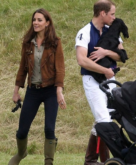 Prince William And Kate Middleton Turn Polo Match Into A Canine Adventure