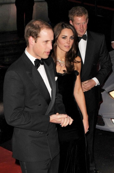 Kate Middleton, Prince William Avoiding Hard Partying Prince Harry? 0128