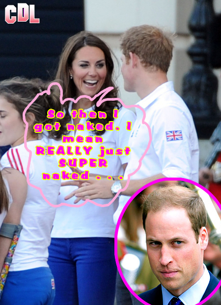 Prince William is 'Not Impressed' with Prince Harry's Scandalous Naked Adventures