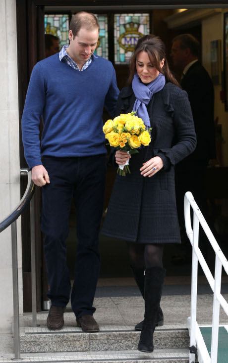 Kate Middleton and Prince William's Baby Could be a Royal Ginger: Fifty Percent Chance for Red Hair Say Geneticists