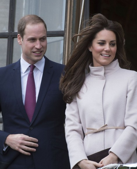 Prince William Accepts Baby Gift For Pregnant Kate Middleton At Cambridge 1129