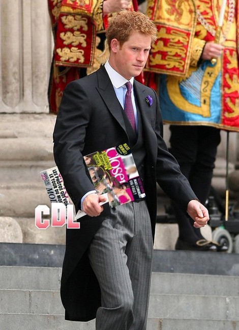 Prince Harry Caught With Kate Middleton Topless Closer Magazine - Prince William Furious!
