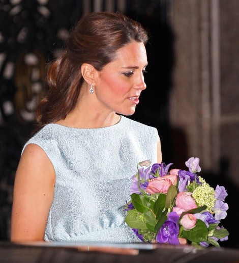 Queen Elizabeth Forbids Kate Middleton to Move Home With Mother Carole Middleton After Baby Is Born
