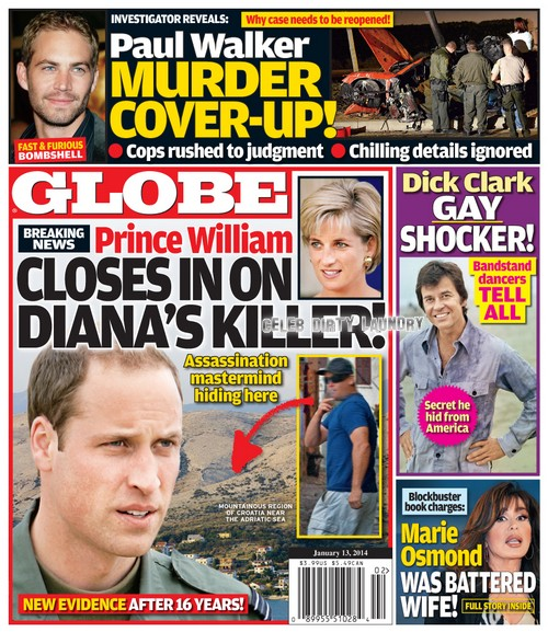 Princess Diana's Hitman in Hiding: Prince William Assembles Team to Find Mom's Assassin (PHOTO)