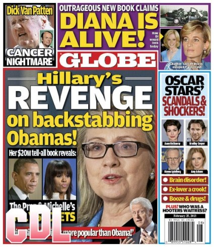 GLOBE: Princess Diana Is Alive Claims New Book (Photo)