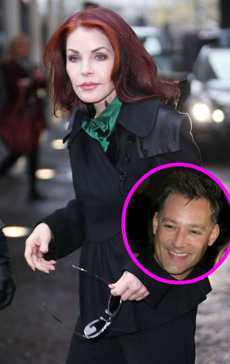 Priscilla Presley Enamored by Fresh Young Boy Toy Toby Anstis: The Couple Gets Flirty!