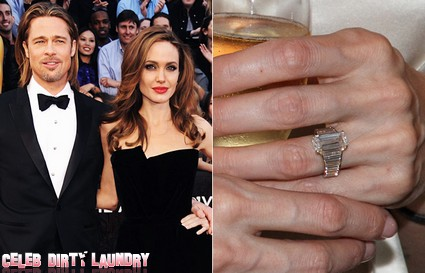Everyone Wants A Copycat Angelina Jolie Engagement Ring