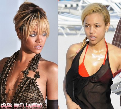Rihanna Fans Scare Chris Brown's Girlfriend To Death