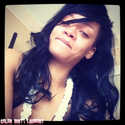 Do You Recognize Rihanna Without Make-Up? (Photo)