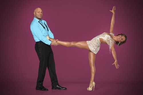 Randy Couture Dancing With the Stars Foxtrot Video Season 19 Premiere 9/15/14 #DWTSF