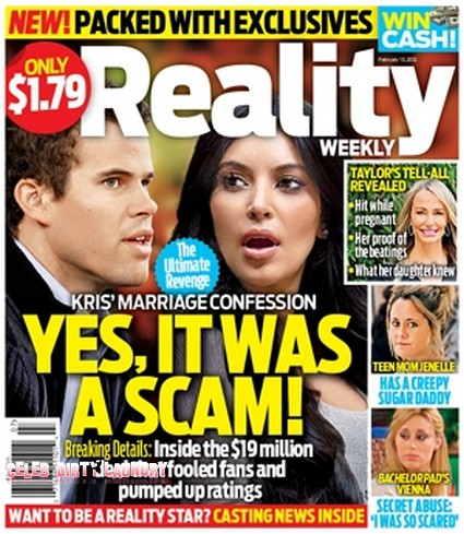 Kris Humphries Admits His Marriage To Kim Kardashian Was A Scam (Photo)