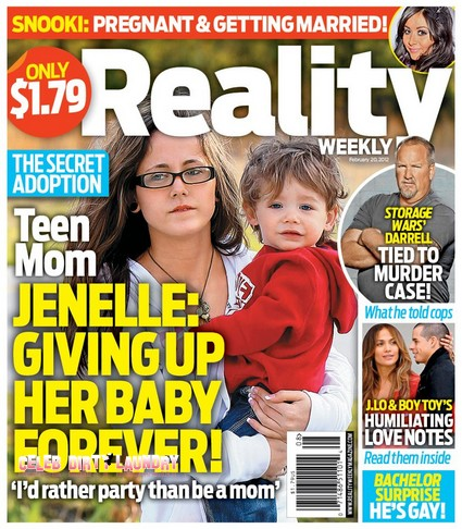 Teen Mom Jenelle Evans Giving Up Her Baby Forever!