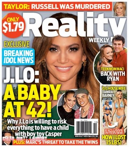 Jennifer Lopez: A Baby At 42 (Photo)