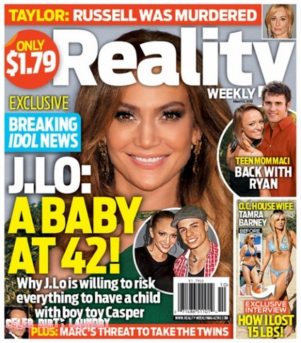 Jennifer Lopez: A Baby At 42 (Photo)