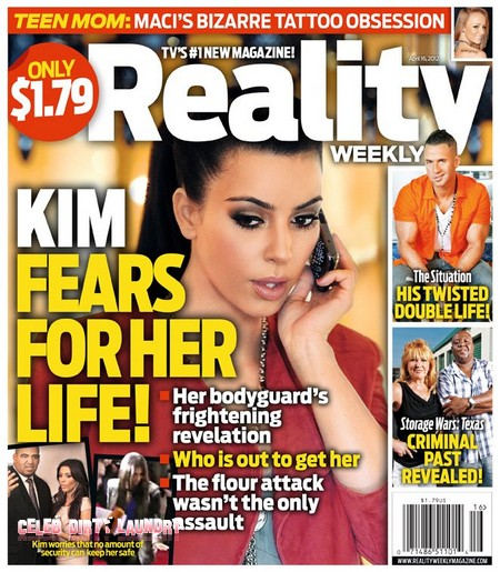 Why Does Kim Kardashian Fear For Her Life (Photo)