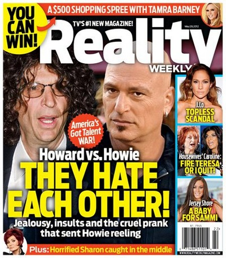 America's Got Talent: Howie Mandel vs. Howard Stern 'The Gloves Are Off' (Photo)