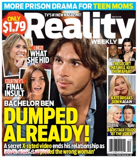 The Bachelor Ben Flajnik Dumped By Courtney Robertson Already (Photo)