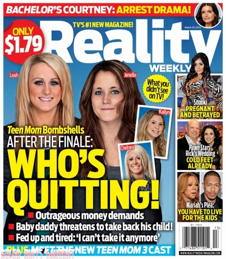 Teen Mom Bombshell: Who's Quitting! (Photo)