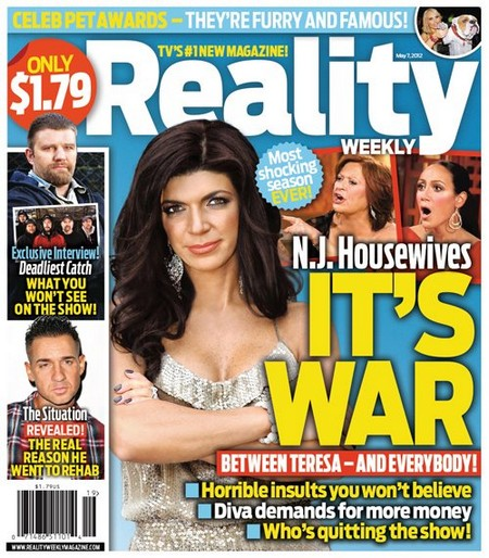 Teresa Giudice Of 'The Real Housewives of New Jersey' At War (Photo)