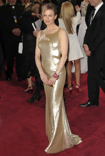 Renee Zellweger Drunk Or Just Awkward At Oscars? 0225