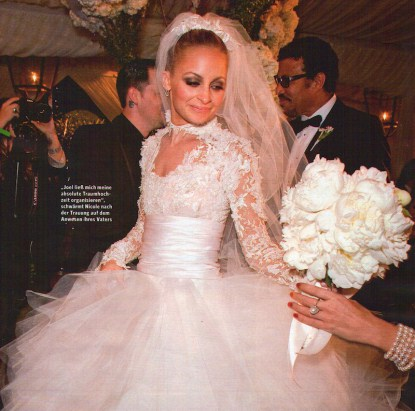 Nicole Richie And Joel Madden Wedding Photos