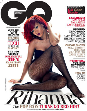 Rihanna Sizzling on The Cover of GQ Magazine UK
