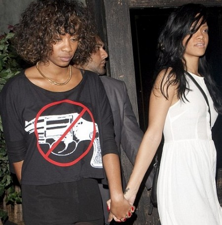 Rihanna Goes Lesbian For Date Night (Photo)
