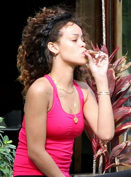 Rihanna Runs From Chris Brown