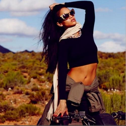 Rihanna-on-an-ATV