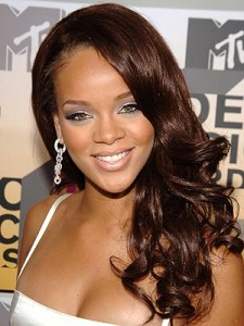 Rihanna's Kool-Aid Weave at NYC Performance